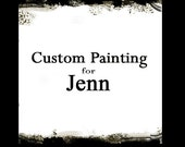 CUSTOM Painting for JENN 2 paintings 48x48x1.1/4  each Ready To Hang by Bethany Sky Whitman
