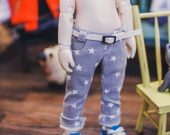 USD Stars Roll up skinny pants - Gray