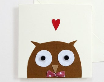 Baby Owl Gift Card