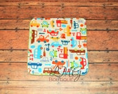 Wash cloth with Trucks, Baby towel, Face towel, Minky wash cloth, Reusable wipe, Makeup remover, Eco-friendly, Reusable cloth wipes, Boogie