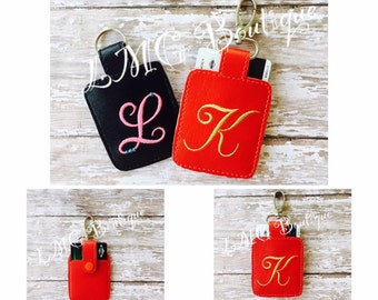 Personalized Card Holder,  Keychain,Card wallet,  Wallet, Card Holder, Card buddy Favor, Monogram Case