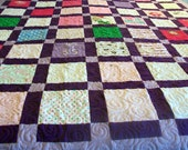 """Reserved for Isabela B. - Quilts Made from Baby Clothes Full Size 82"""" x 87"""" (40 to 50 Clothing Items) - DEPOSIT LISTING (50%)"""