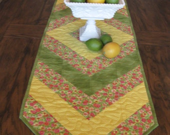 SALE Floral Table Runner