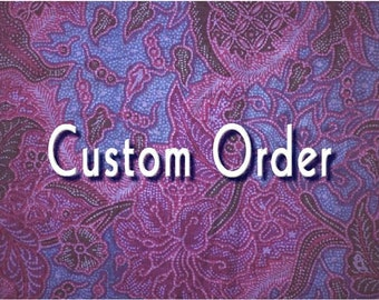 CUSTOM ORDER for Amy - Accordion-Style Envelope Book