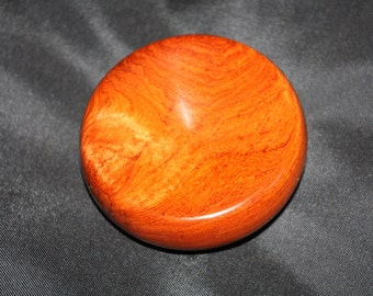 Exotic Narra Wood Spinning Disc by Phil Powell