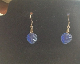 Blue Vintage Dangle Earrings # 8