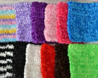 "new Girls 8X7""  Crochet tutu top tube many  color you choose  for tutu dress headband baby toddler Fuzzy yarn 1 to 4 years"