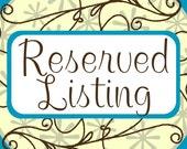Reserved listing for kateroskopf