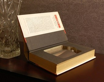 Hollow Book Safe & Flask (Bonded Fleming)