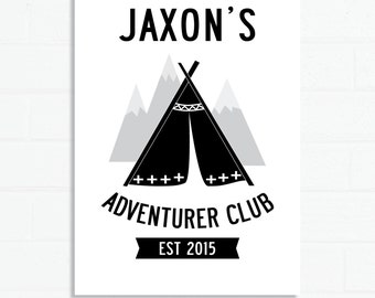 Adventurer Club Custom A3 Poster