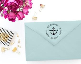 Custom Return Address Stamp - Self-Inking Rubber Stamp - Address Stamp - Personalized Self-Inking Stamp