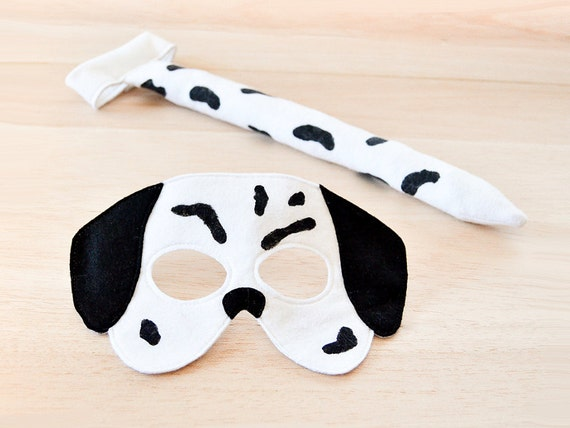 how to make dalmatian tail