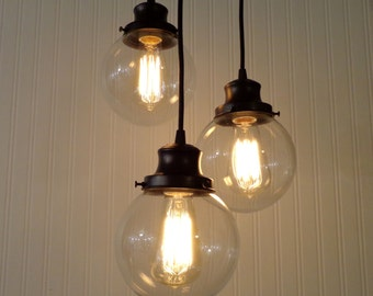 Biddeford II  CHANDELIER Light Trio