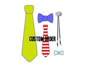 Custom Order for Joslyn, 5 Mens 3.0 Inch Teal Neckties