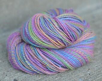 Pleasure Love - merino/silk 2-ply handspun yarn - DK weight, 219 yards