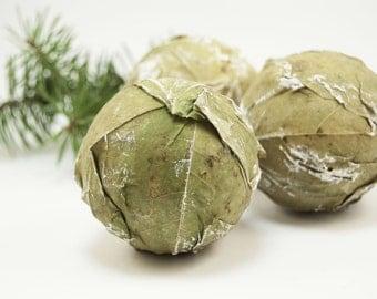 Rustic Christmas ornaments - Natural Christmas tree ornaments- Christmas tree decoration