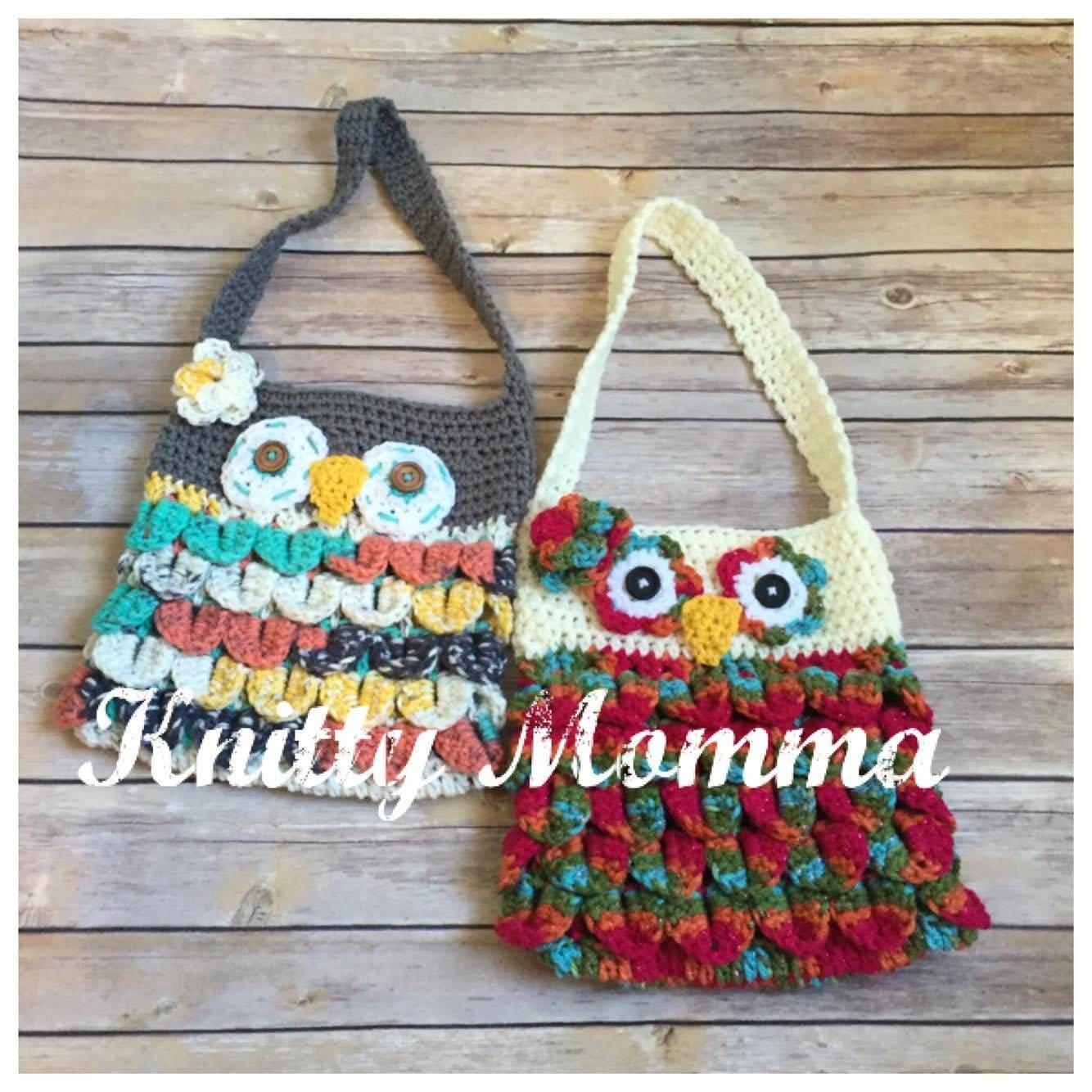 Owl handbag crochet pattern owl purse crochet pattern from owl handbag crochet pattern owl purse crochet pattern bankloansurffo Image collections