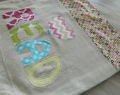 READ Tote Bag, book bag, pool bag, craft bag, library bag