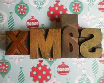 X M A S   Printers Blocks