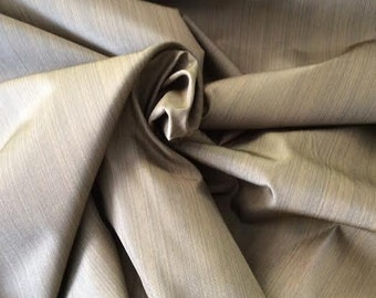 Gold STREA black SOLID drapery upholstery fabric 18-47-09-0310