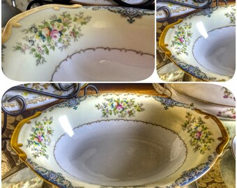 Vintage China Serving Bowl for Tea Parties, Bridal Luncheons, Showers