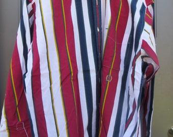 VINTAGE MENS TOMMY Hilfiger  colorful striped button down  long sleeve cotton  dress shirt sz large