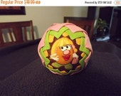 HOLIDAY SALE Quilted Sugar Plum Ornament Miss Potatoe Head . . . FREE Shipping!