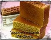Savon à la soie Karité et miel, hygiène féminine, shea butter, sans parfum