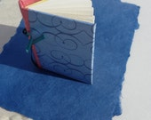 NEW Adorable Little Hand Bound Skecthbook of Watercolor Paper