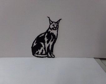 Cat Wall Art metal cat wall art | etsy