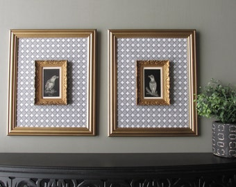 wall decor - Antiquity and Contemporary-  wall art set