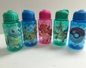 10 Pokémon  Chevron water   bottles