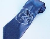 Men's Necktie - Speedometer Tie - Premium Quality Tie - Gift Wrapped - Choose color and quantity
