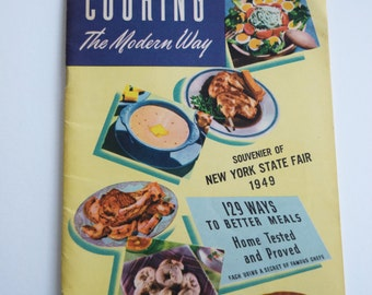 1949 PLANTER PEANUT COOKBOOK Recipe Booklet Cook Book Pamplet Souvenier New York State Fair Betty Crocker Cake Pastry Dessert Paperback 1940