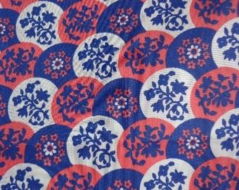 Vintage Klopman Mills Fabric Dress Weight Silky Feel