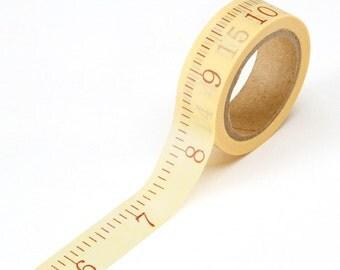 Sale! Washi Tape - Measuring Tape, Ruler, Measurement, School - Darice