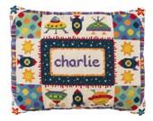 Modern needlepoint DIY cushion kit, tapestry kit, cross stitch kit, cushion kit, boy's birth announcement, baby gift, Seeing Stars