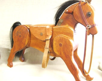 Vintage, Folk Art Horse, Horse, Equestrian, Handmade, Folk Art, Animal, Equine, Wood Carving,Carved Wood Horse,Wooden Folk Art,Farm Animal