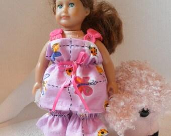 Pajamas PlaySuit Mini Am Grl Middie Blythe Lati Yellow 2 pc