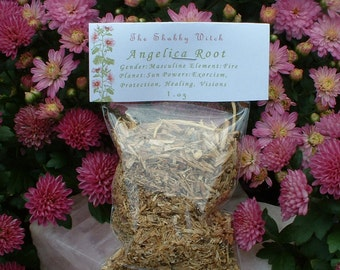 Angelica Root Organic, 1.oz
