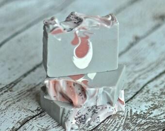 Patchouli Soap - Vegan Soap -  Shea Butter Soap  - Natural Essential Oil - Hippie Soap