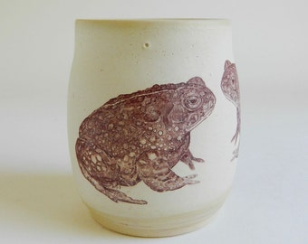 Large Toad Cup - 14oz, coffee, tea, frog, amphibian