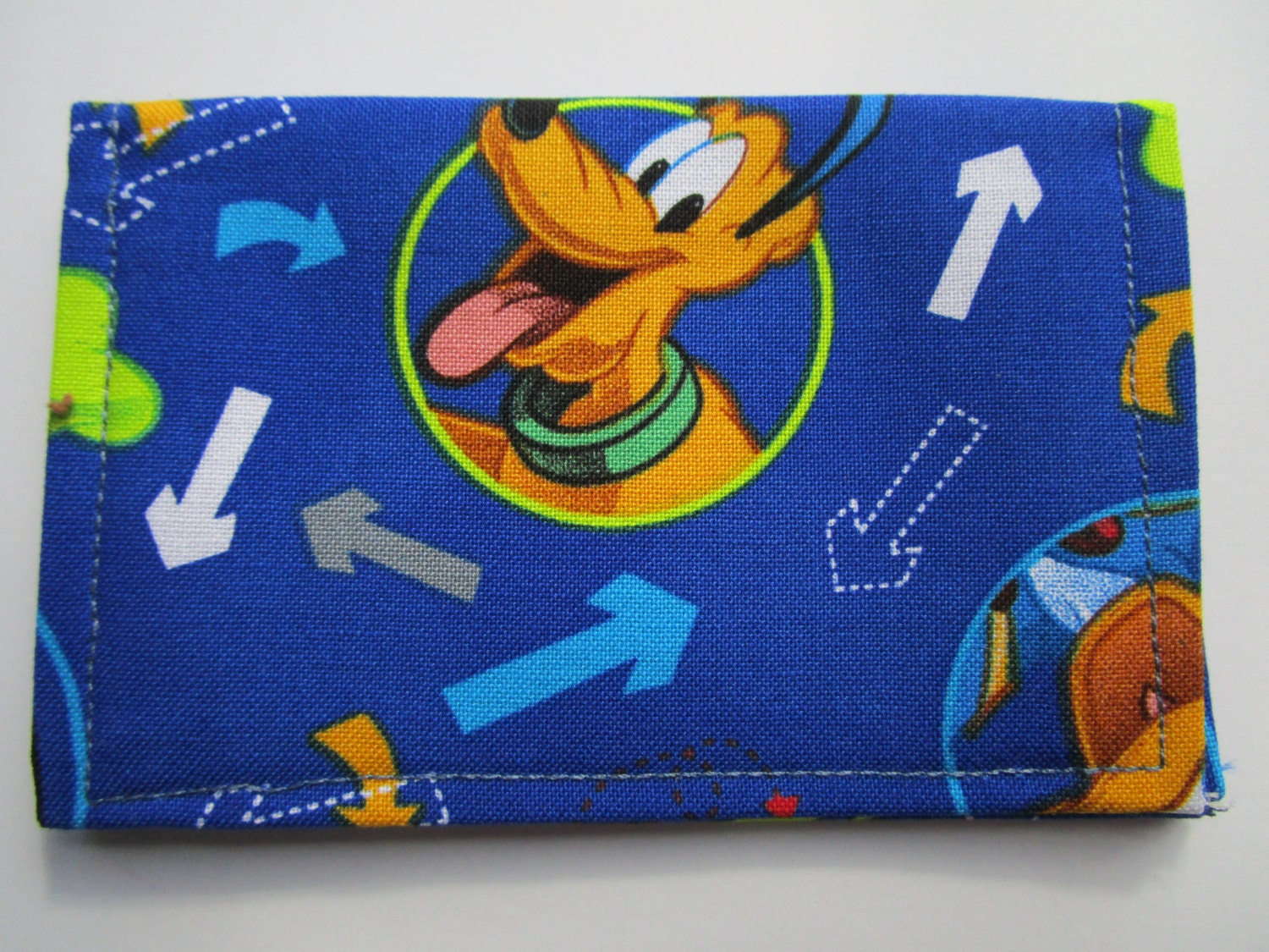 Mickey Mouse, Pluto and Donald Duck Wallet, Disney Pass Holder ...