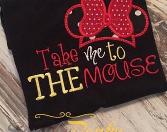 Take Me to the Mouse Girl's Shirt