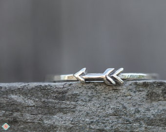 Silver Arrow Ring, Silver Ring, Southwestern Ring, Sterling Silver Jewelry