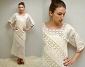 Mexican Wedding Dress  //  Boho Wedding Dress  //  THE GUADALUPE
