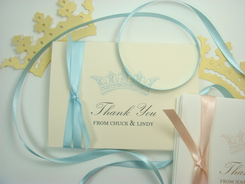 french theme baby shower thank you stationery by inkpartyemporium