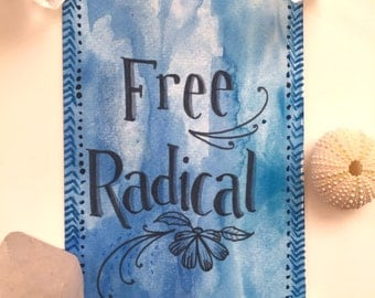 Free Radical Original Painting