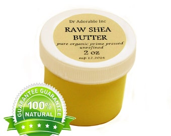 2 oz Raw Unrefined Shea Butter From Ghana 100% Pure Organic Natural