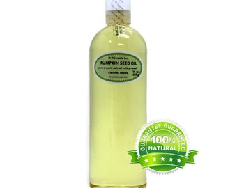 16 oz  Pure Pumpkin Seed Oil Organic Cold Pressed Refined